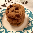 One Bowl Gluten Free Chocolate Chip Cookies (Half Batch)