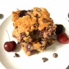 Cherry Chocolate Chip Blondie Bars (Gluten-Free)