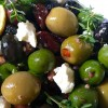 Roasted Olives With Feta And Lemon