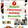 7 Simple Christmas Holiday Desserts