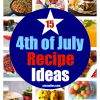 15 Fourth of July Recipe Ideas