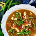 Minestrone Soup With Gluten Free Pasta