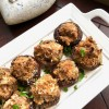 Stuffed Mushrooms with Sausage and Cream Cheese