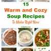 15 Warm and Cozy Soup Recipes To Make Right Now