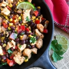 Quick and Easy Chicken Fiesta Skillet
