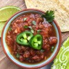 Easy Homemade Organic Salsa