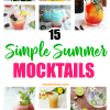 15 Simple Summer Mocktails