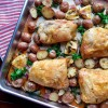 Sheet Pan Herb Roasted Chicken with Red Potatoes