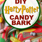 Easy DIY Harry Potter Candy Bark Recipe