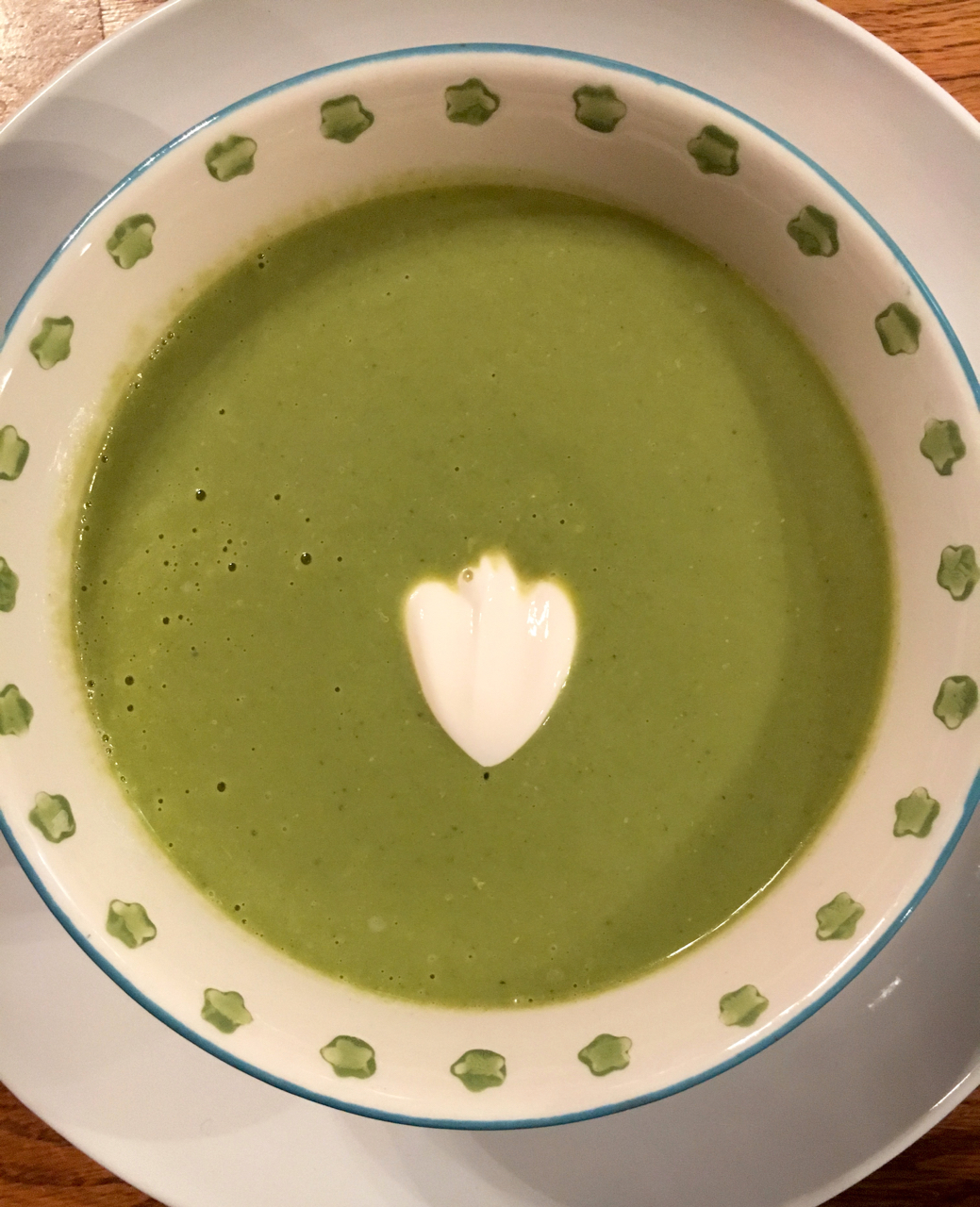 Creamy Broccoli Soup at Zesty Olive