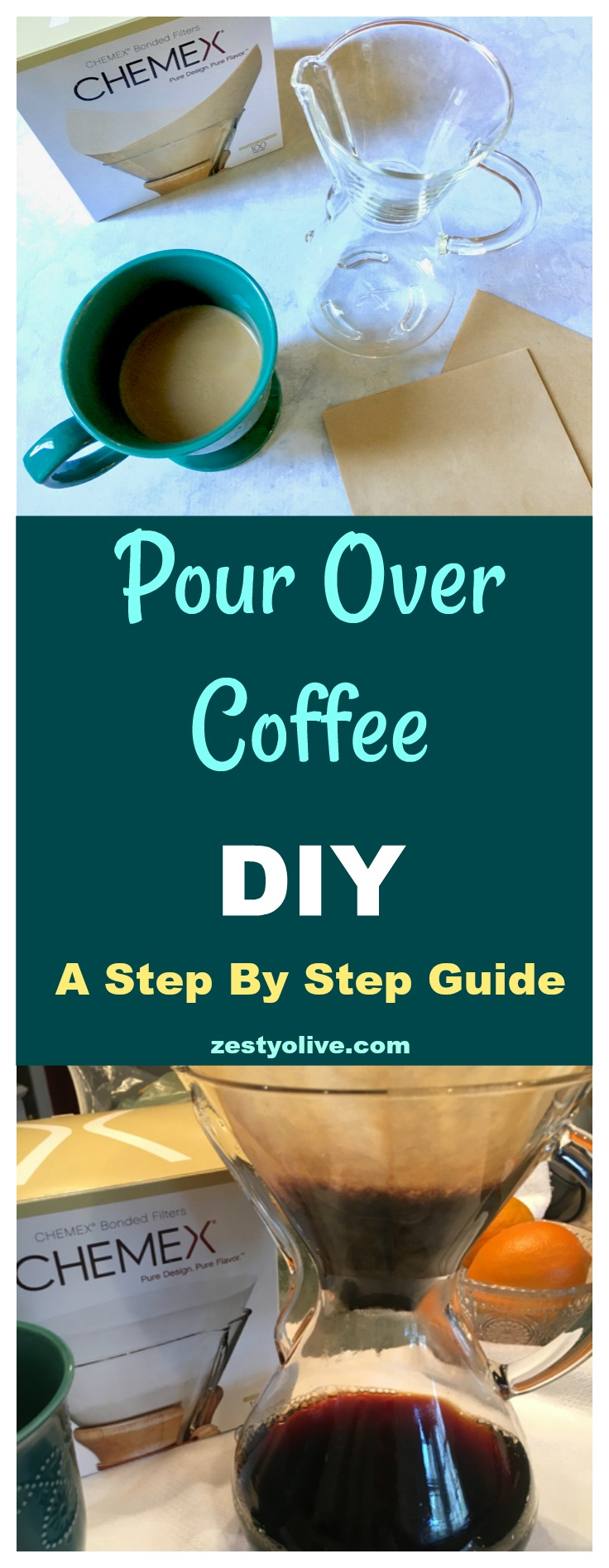 Pour Over Coffee DIY Step By Step Guide