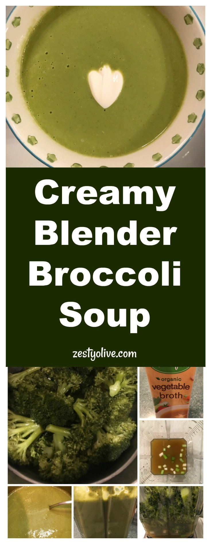 Broccoli is the star of this green, healthy soup. Preparation is quick and easy, so you can have this creamy broccoli soup on the table in about 15 minutes.