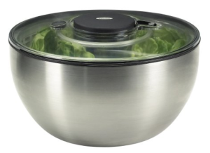 Steel Salad Spinner
