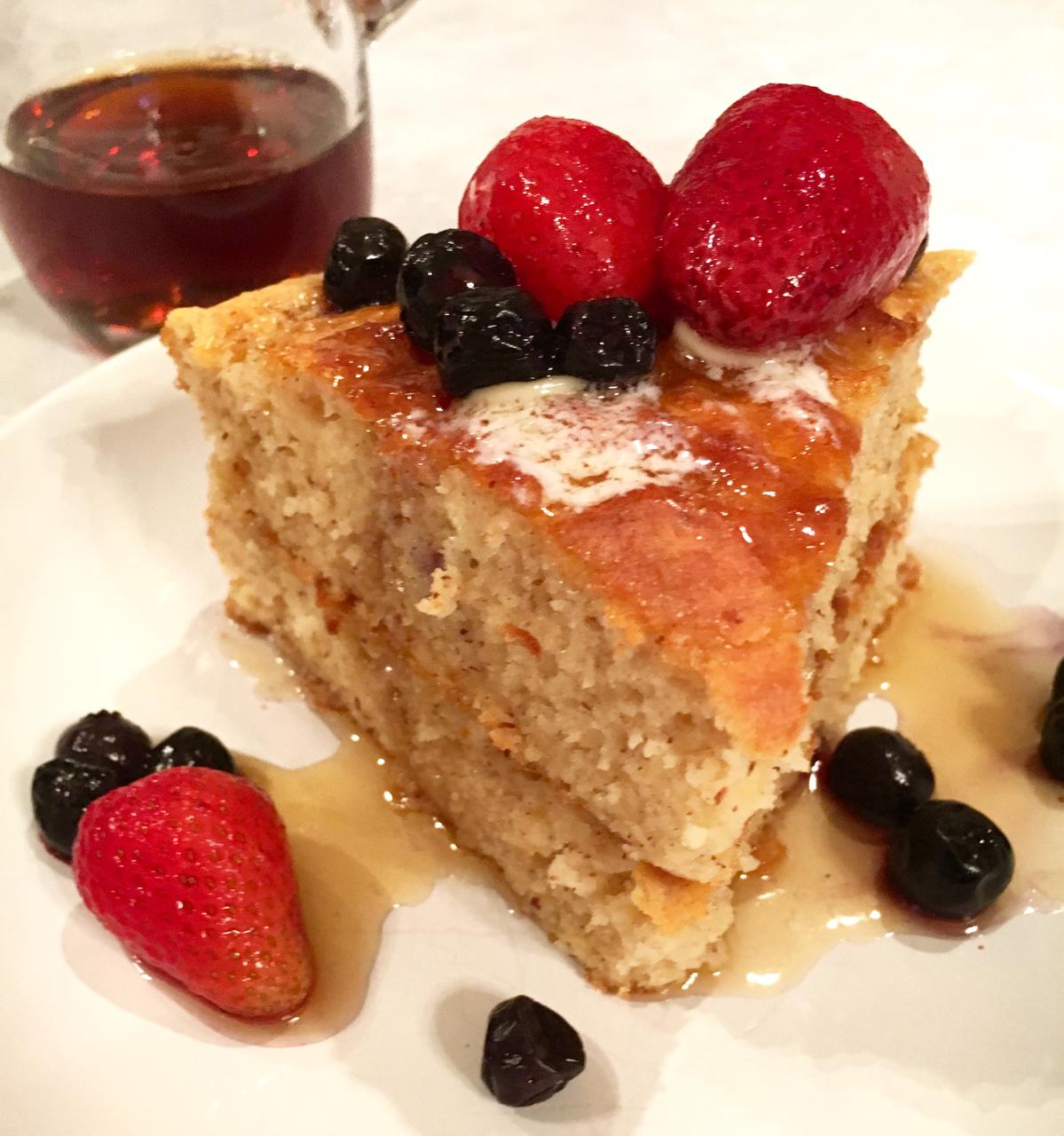 Gluten Free Yogurt Cake Pan Pancakes