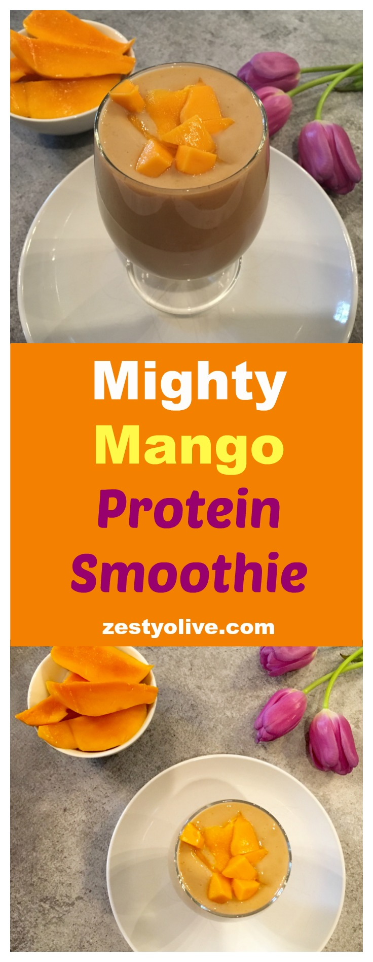 Mighty Mango Protein Smoothie