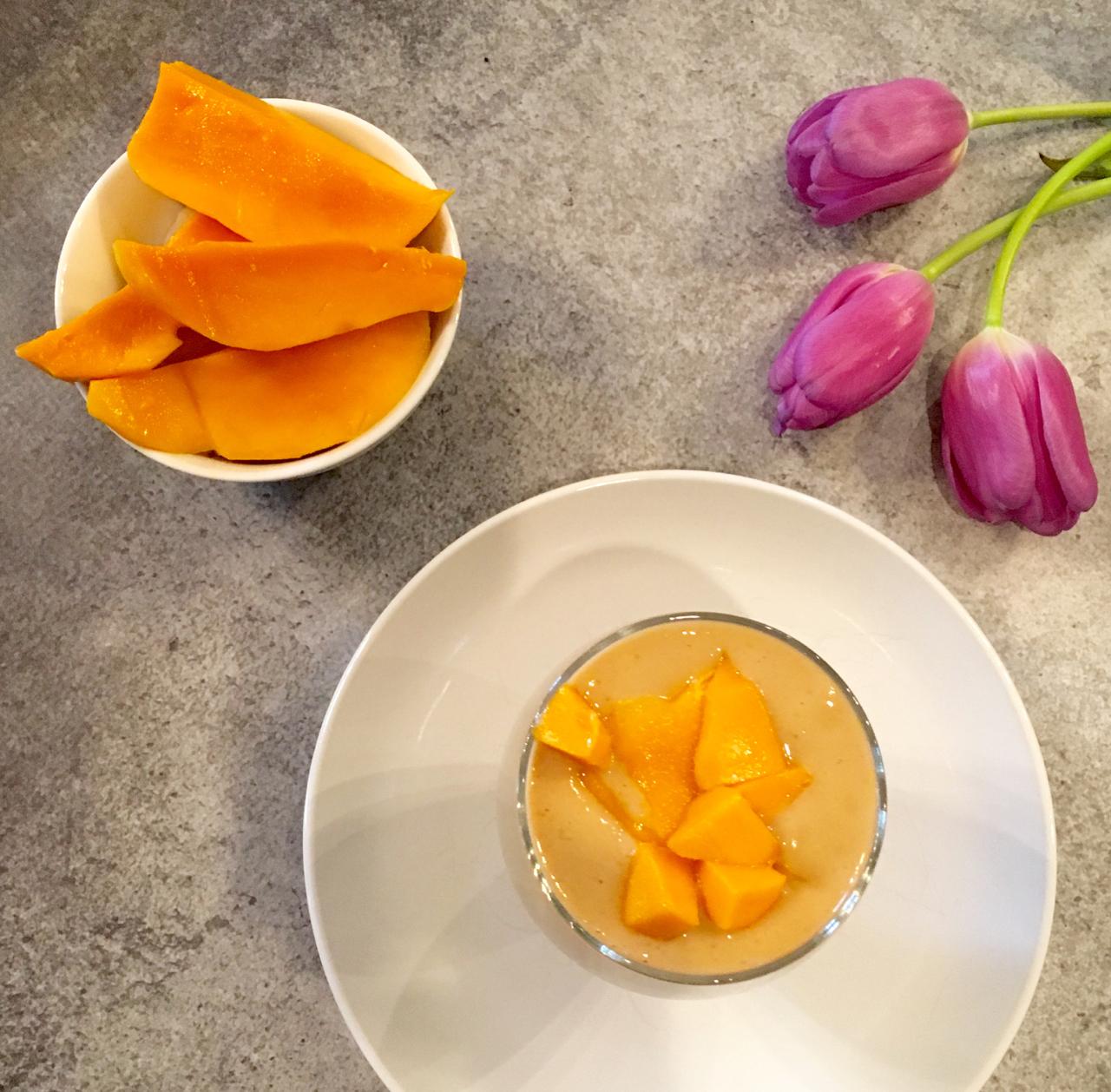 Mighty Mango Protein Smoothie
