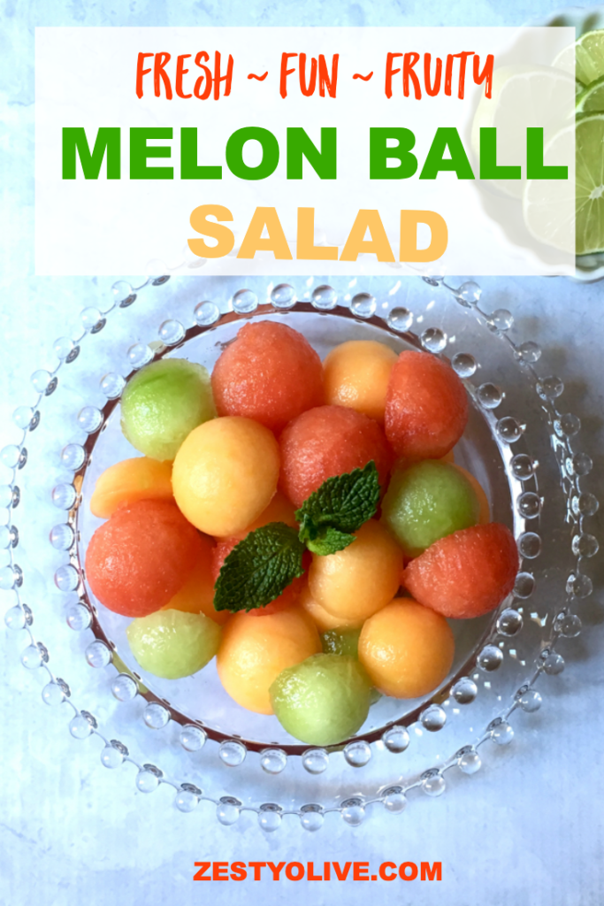 Fresh Melon Ball Salad Recipe