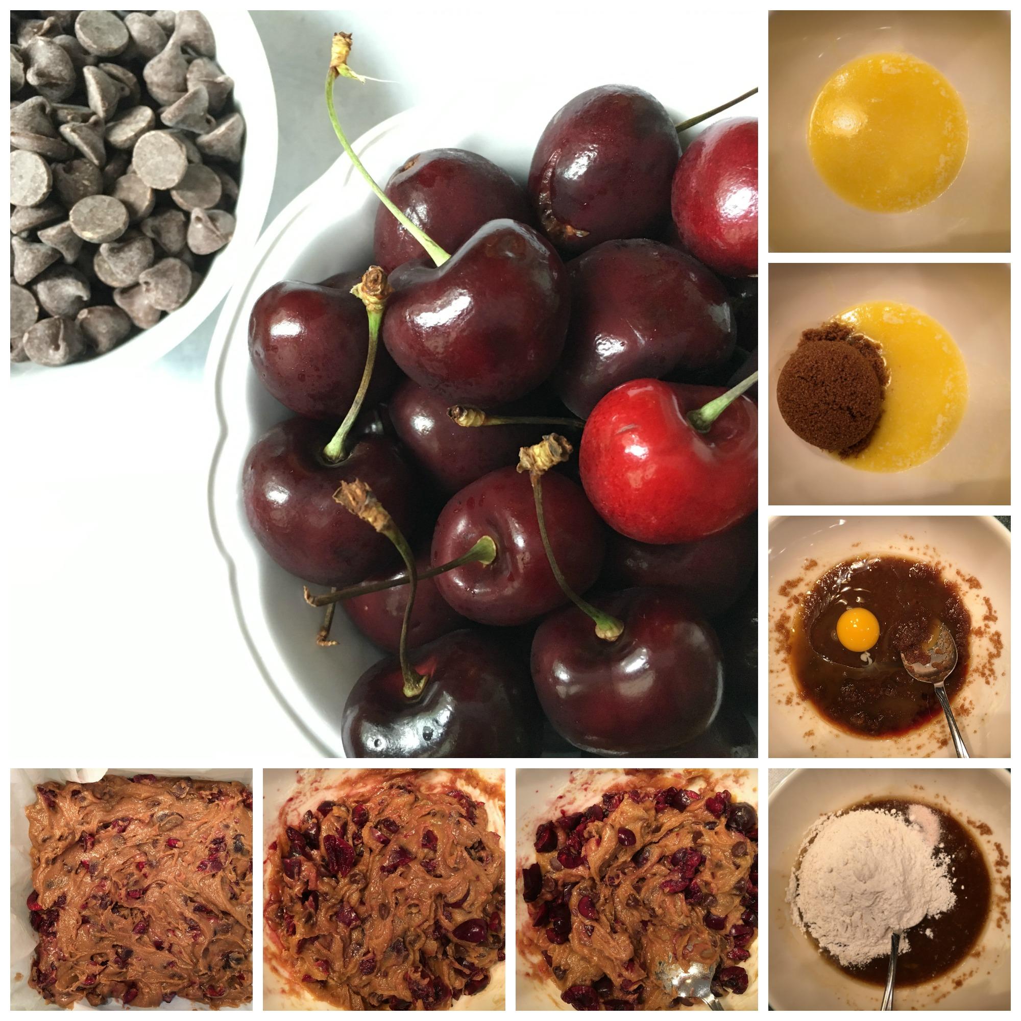 Cherry Chocolate Chip Bars