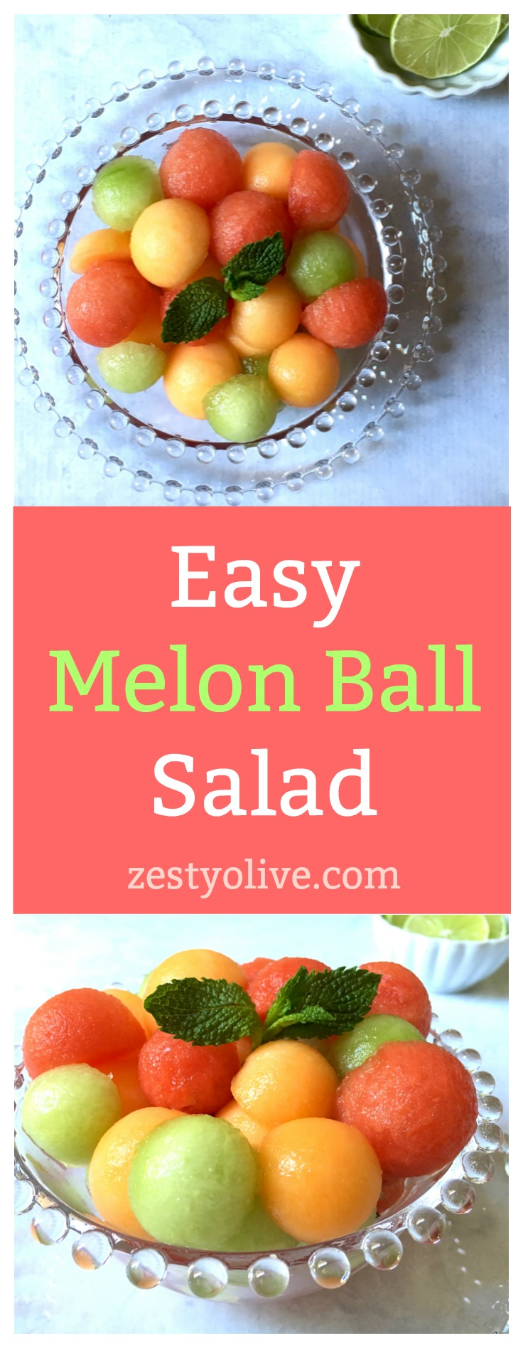 Easy Melon Ball Salad