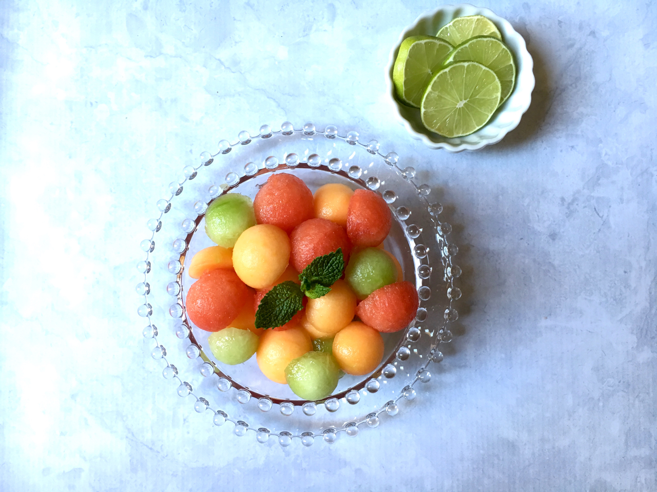 Melon Ball Salad