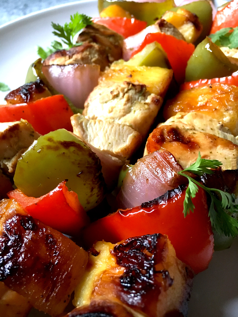 Marinated Chicken Kabobs