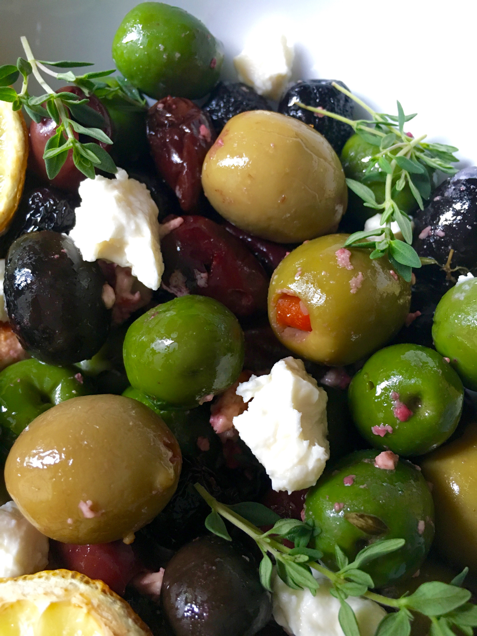 Roasted Olives