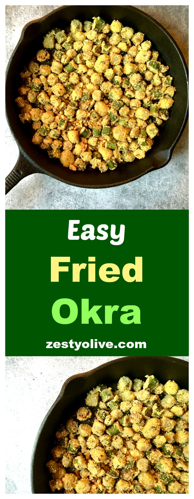 Easy Fried Okra Recipe