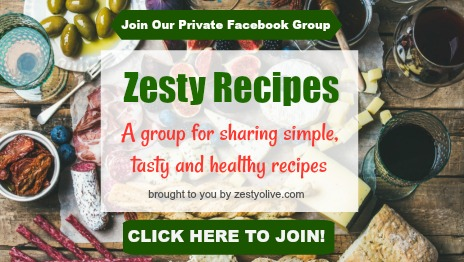 Facebook Group Zesty Recipes
