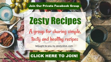 Facebook Group Zesty Recipes