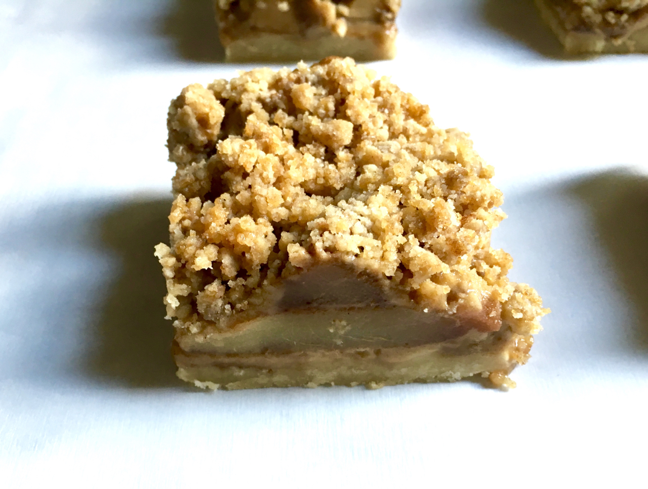 GF Apple Pie Bars