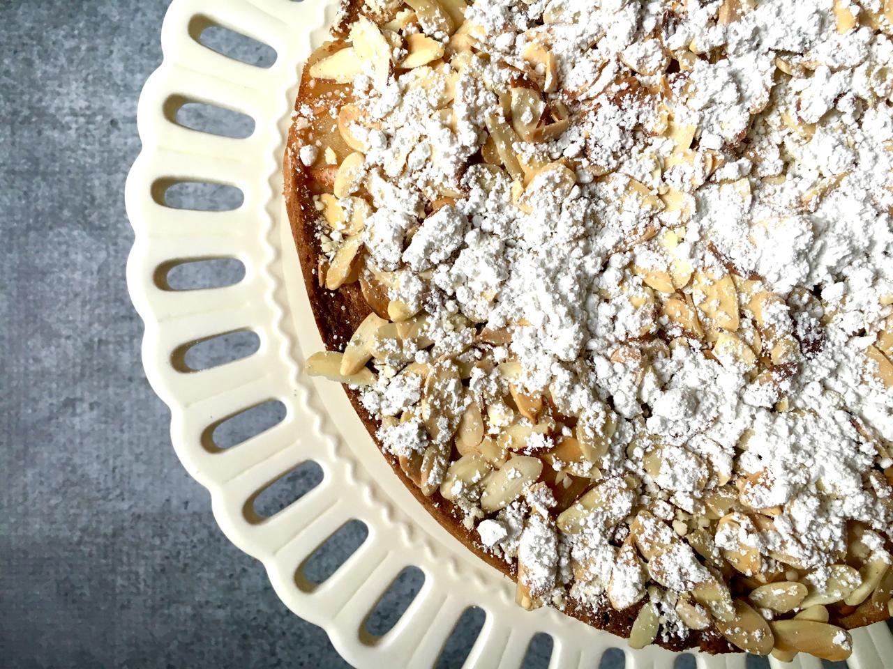 Almond Pear Cake Gluten-Free