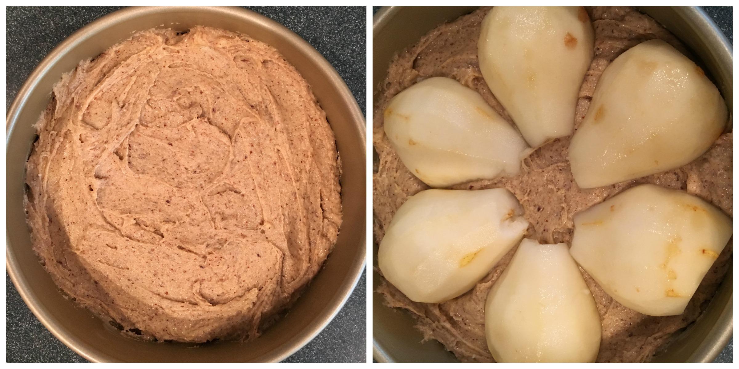 Gluten-free Almond Pear Cake