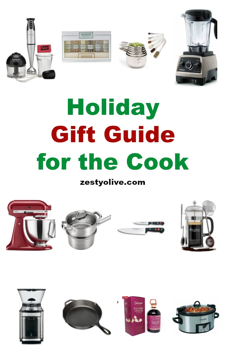 Here's my Holiday Gift Guide for the Cook or Chef in your life. Any one of these gifts would be sure to please that special person.