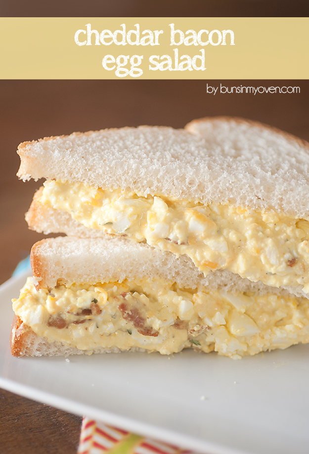 Cheddar Bacon Egg Salad