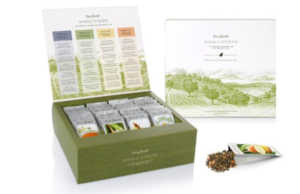 Tea Forté Single Steeps Loose Tea Sampler Tea Chest