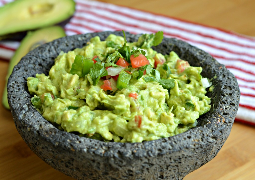 Homemade Mexican Guacamole