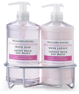 Williams Sonoma Hand Soap and Lotion Set Pink Grapefruit