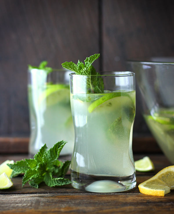Zesty Lemon Lime Mojitos