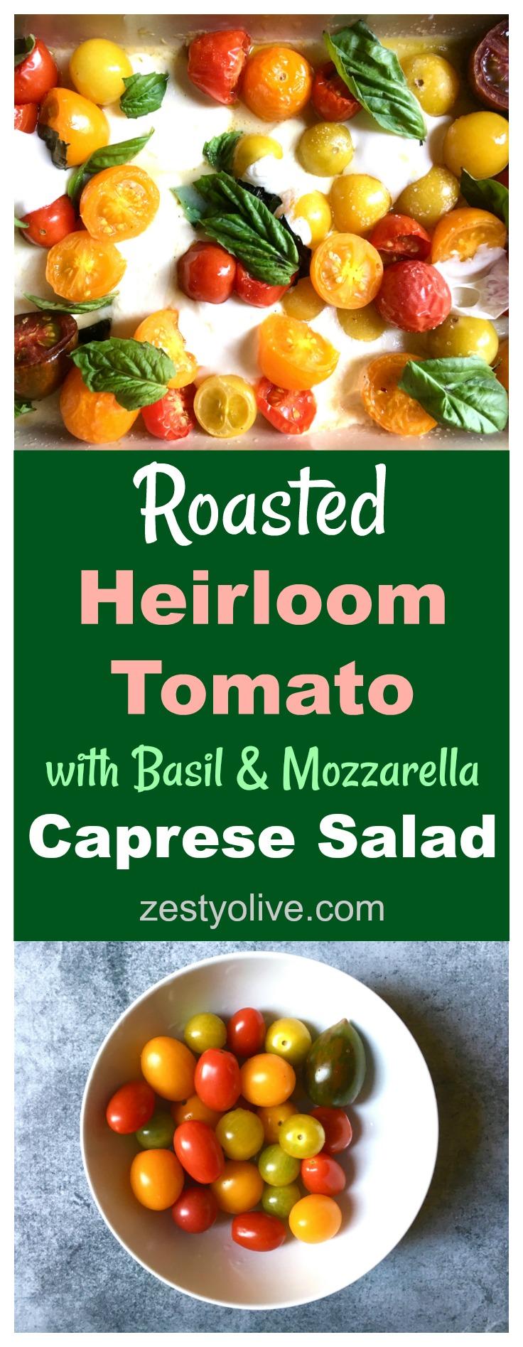Roasted-Tomato-Basil-Mozzarella-Caprese-Salad