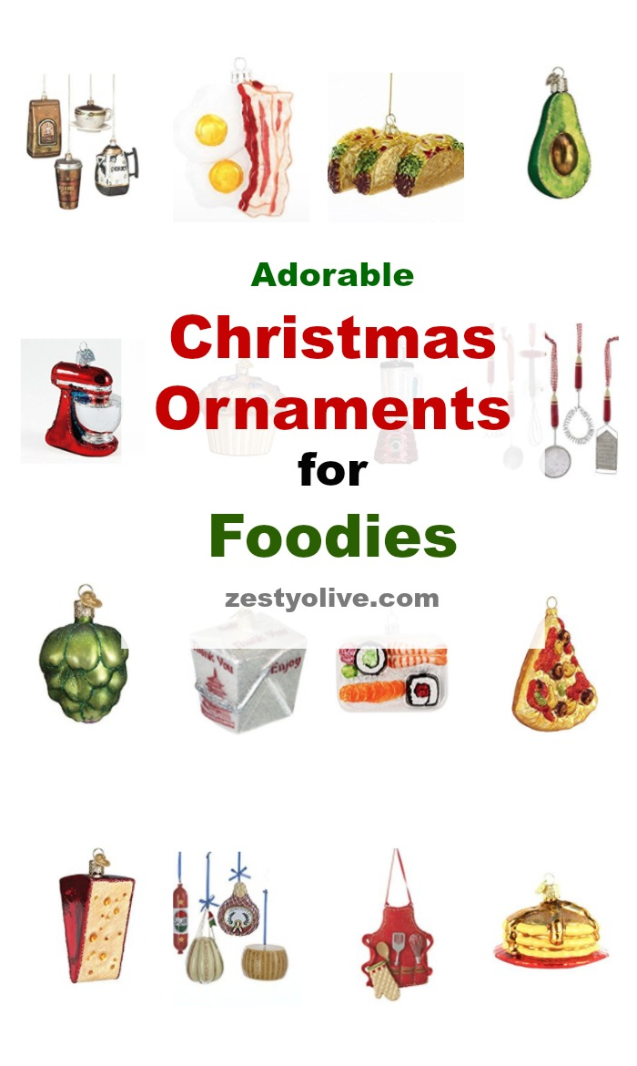 Christmas Ornaments For Foodies