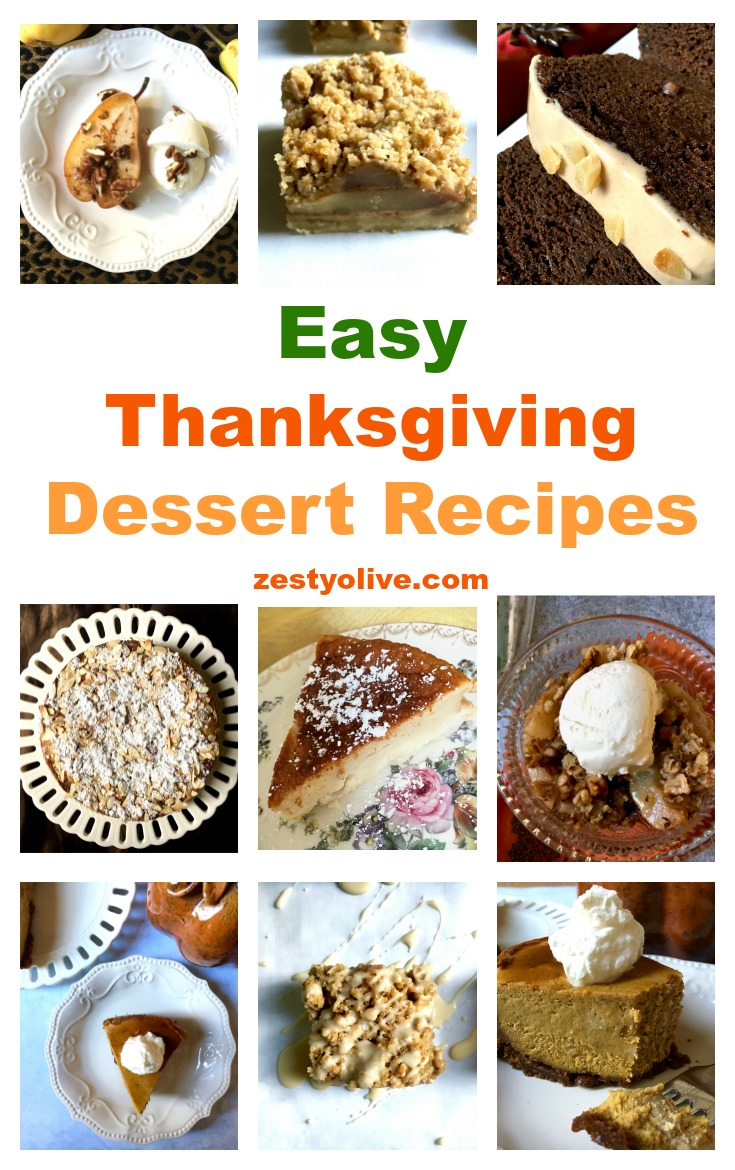 I like easy, but I also like delicious. Here are the easiest Thanksgiving Dessert Recipes (they work for Christmas, too!) that I enjoy making and eating.