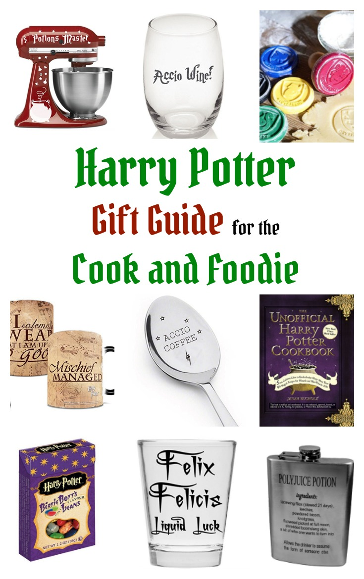 Whether you aspire to deck out your kitchen like the Great Hall or just have a cozy kitchen like Mrs. Weasley, here's a Harry Potter Gift Guide for the Cook or Foodie. Accio, cooking skills!