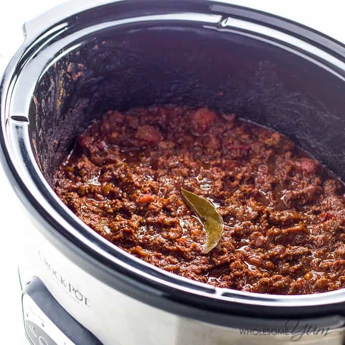 keto low carb chile