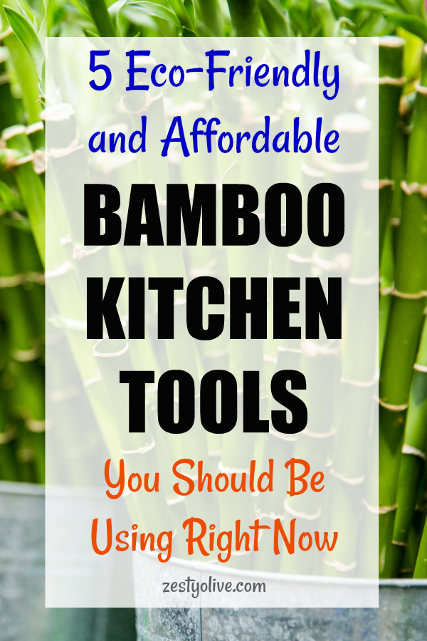 Since bamboo is one of the most affordable and renewable substances in the green marketplace, it just makes sense to upgrade your kitchen tools with these healthier, green options. Here are 5 eco-friendly and affordable bamboo kitchen tools that you should be using right now.