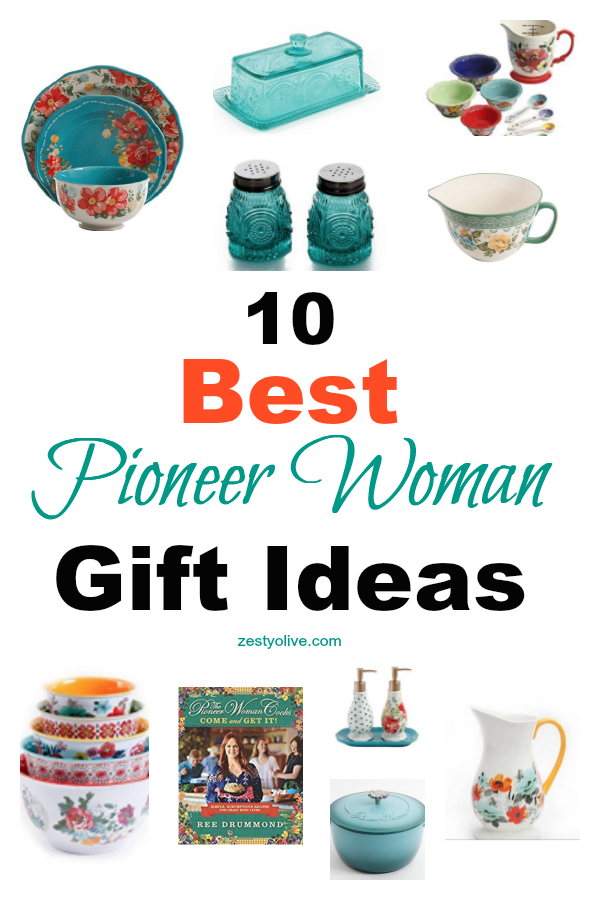 Pioneer Woman fans can't get enough of Ree Drummond's line of cookbooks, dishes, kitchen tools, bakeware and home goods. Every season, Ree comes out with new designs and fans clamor to find them in their local stores and online. Here's a list of the best Pioneer Woman gift ideas for Mother's Day, Christmas, or birthdays.