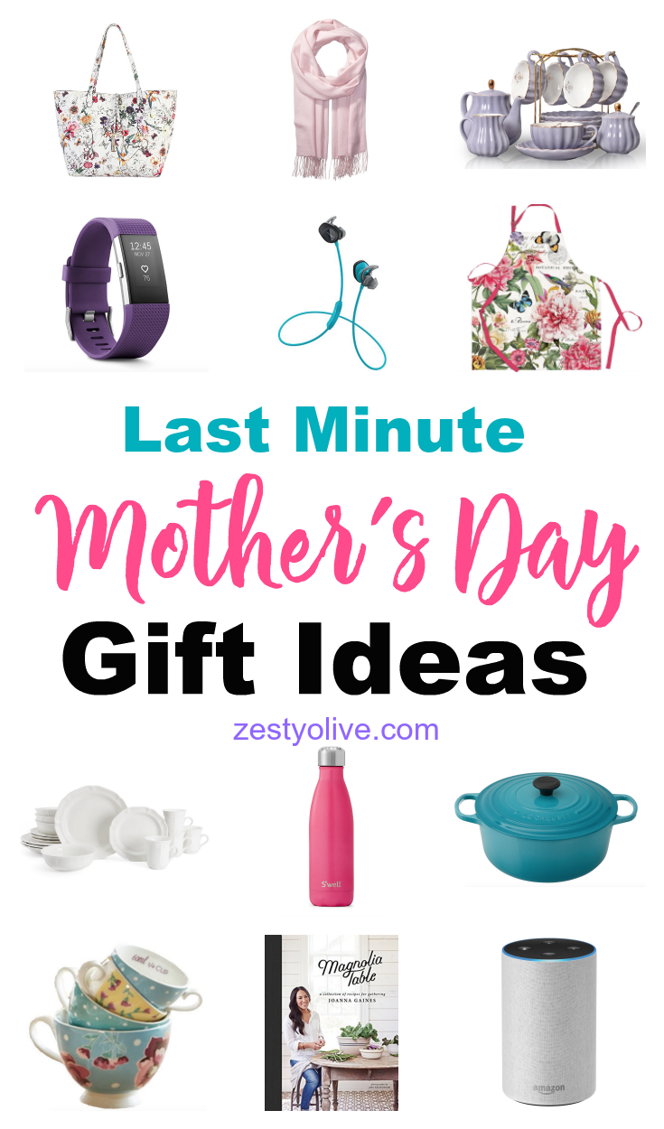 No need to scramble for a gift! Check out my Last Minute Mother's Day Gift Ideas for the perfect gift for your mom. From kitchen to fashion, from electronics to fitness, you'll find it on this list.
