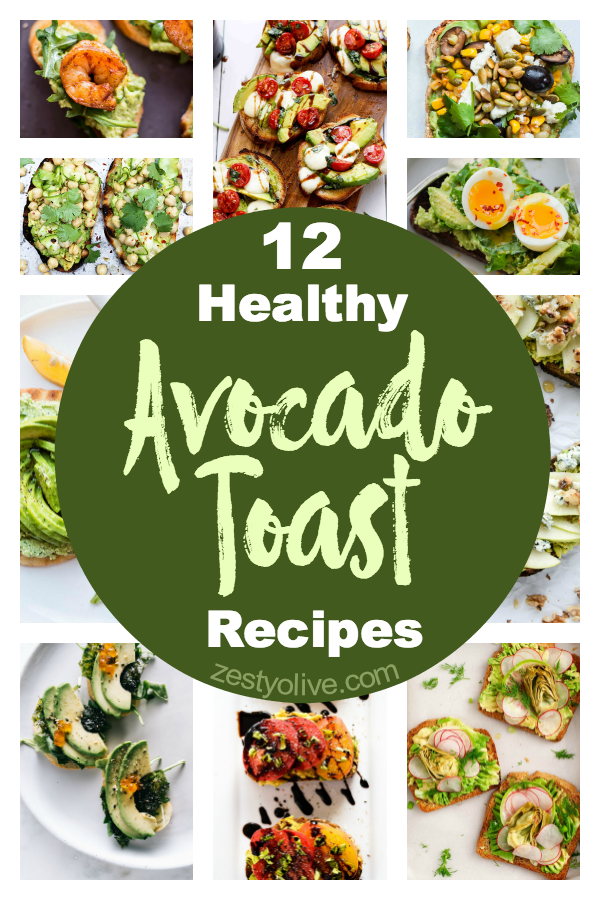 Looking for a way to upgrade your toast or avocado addiction? Here are 12 amazingly healthy and beautiful avocado toast recipes to inspire you!