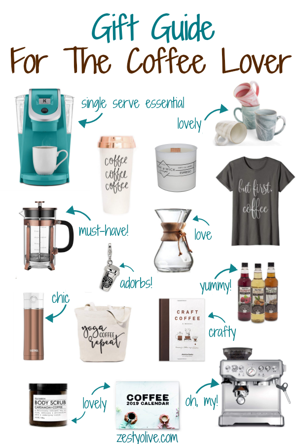 This coffee lovers gift guide will help you find the perfect gift for the recipient who is serious about their morning cuppa. These coffee-related gifts will make their daily java fix even more enjoyable.